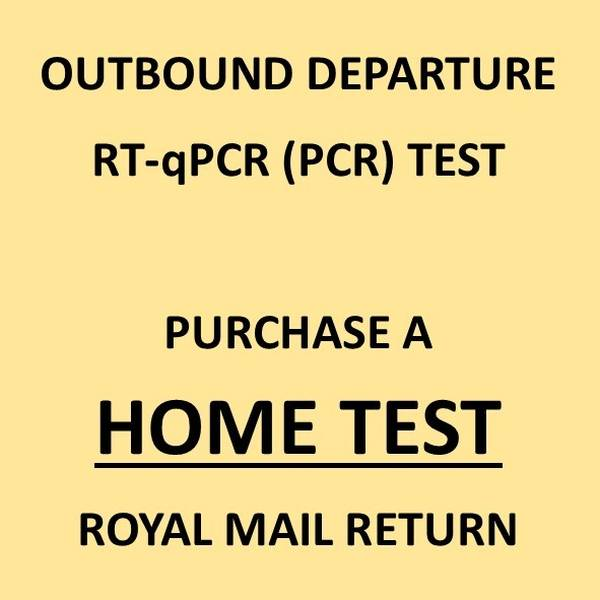 COVID-19 PCR Swab Test & Certificate (For Departure Travel) - Royal Mail Returns