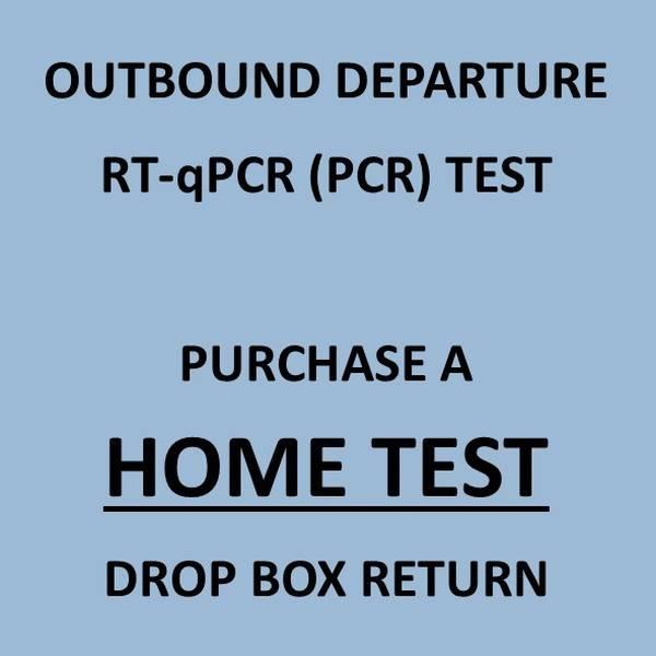 COVID-19 PCR Swab Test & Certificate (For Departure Travel) - Drop Box Returns