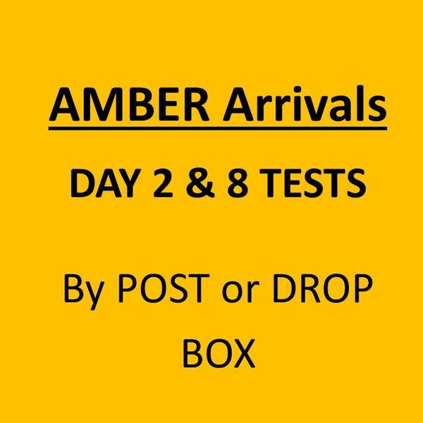 Day 2 and Day 8 Test Package for International Arrivals (MANDATORY TEST)